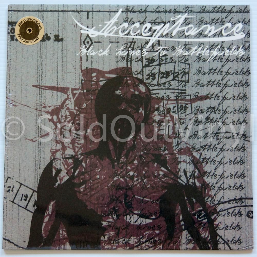 Acceptance Black Lines To Battlefields Vinyl First