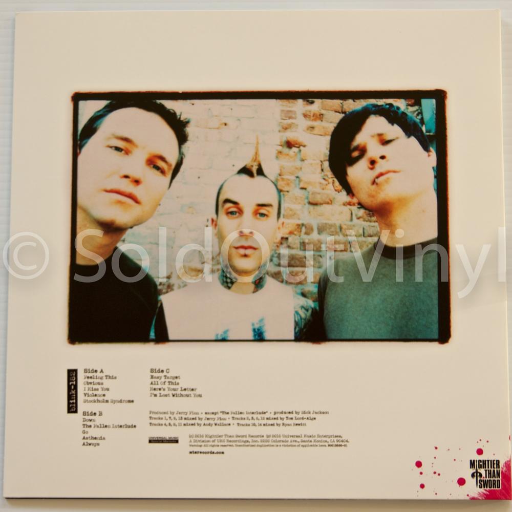 Blink 182 Self Titled Vinyl Mts Press Lp Rare