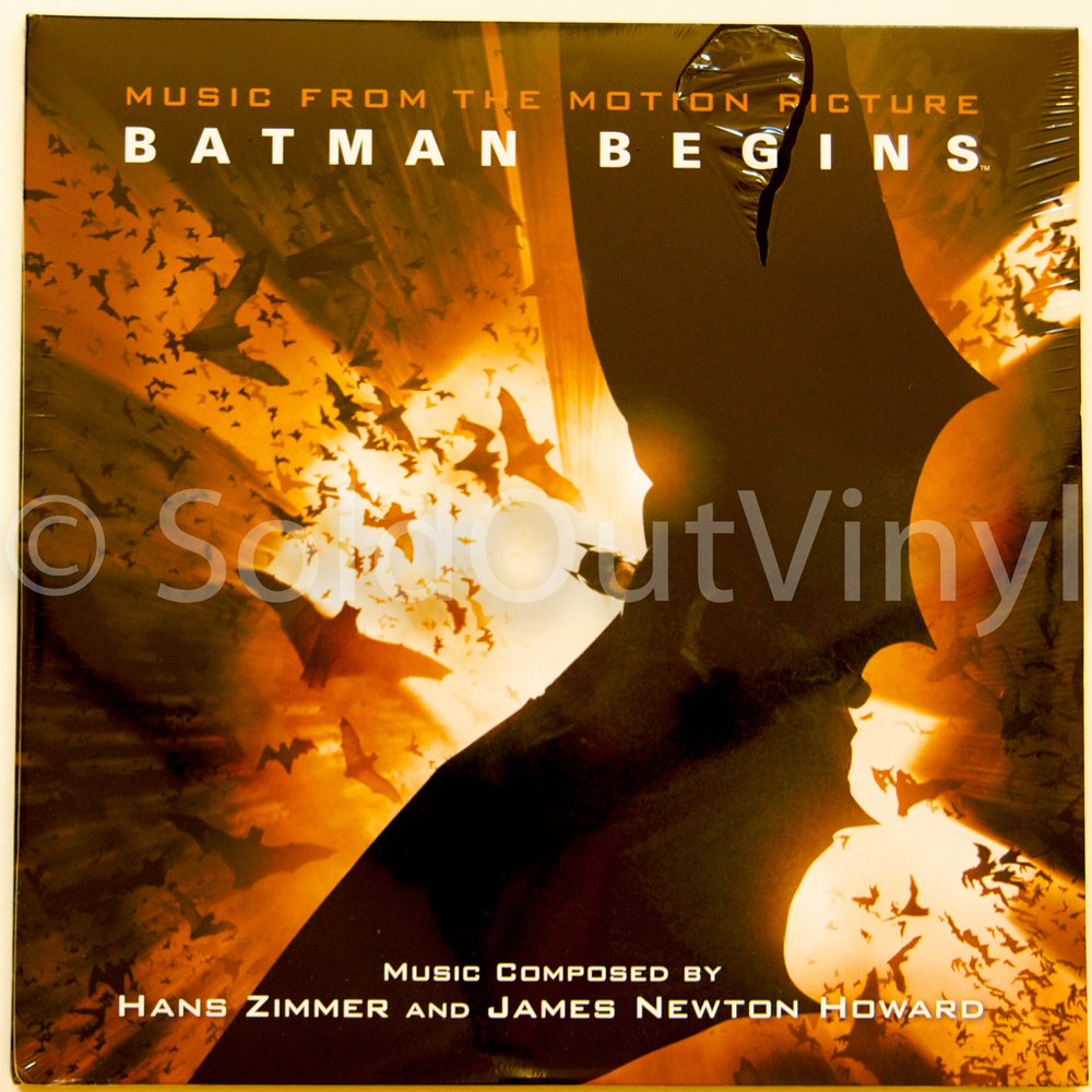 Batman Begins Ost Music From The Motion Picture Vinyl Lp