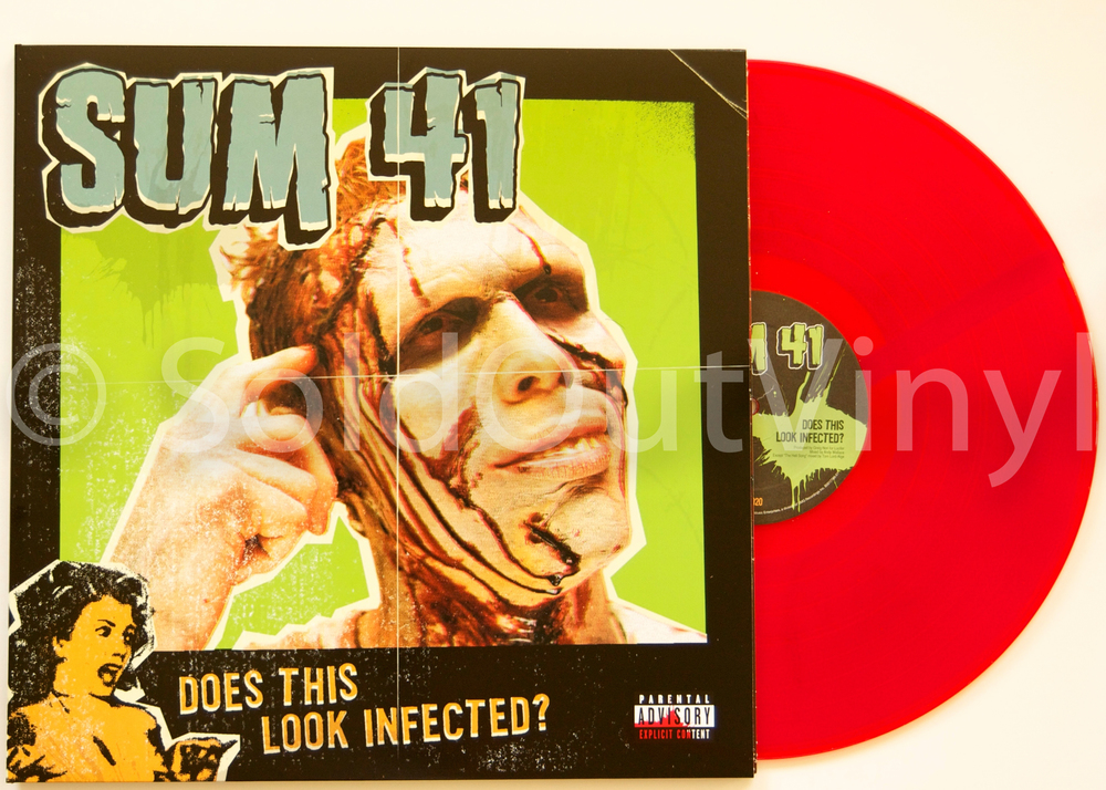 Sum 41 Does This Look Infected Vinyl Lp Soldoutvinyl