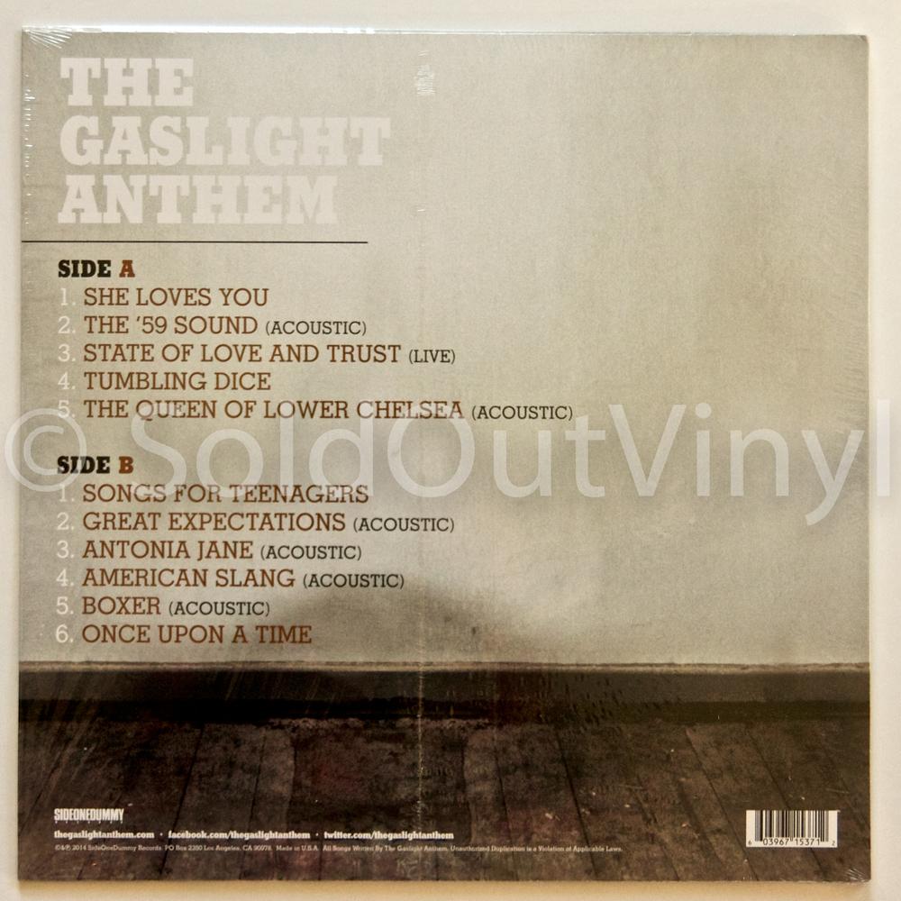 The Gaslight Anthem The B Sides Vinyl Lp Soldoutvinyl