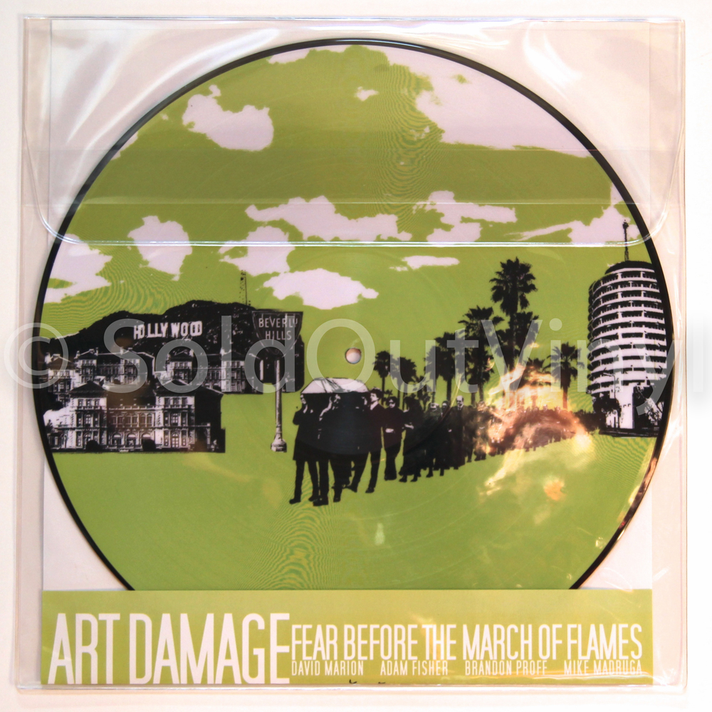 Fear Before The March Of Flames Art Damage Vinyl Lp
