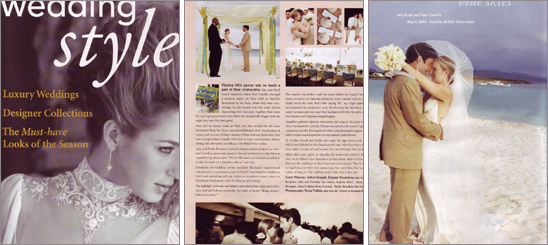 Wedding Style    Click here to download a PDF