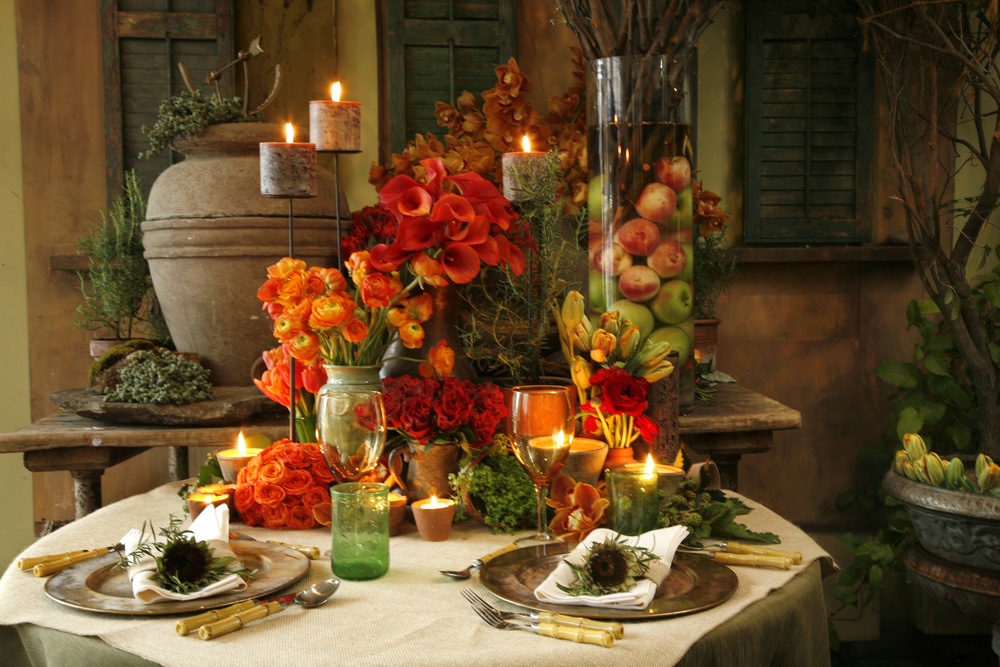 Tuscany Tablescape