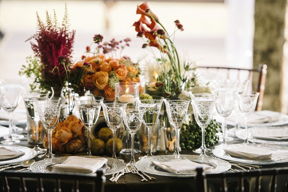 Round Tablescape