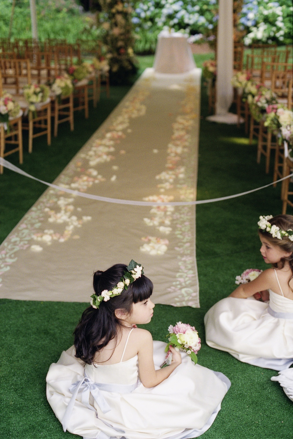Flower Girls and the Aisle