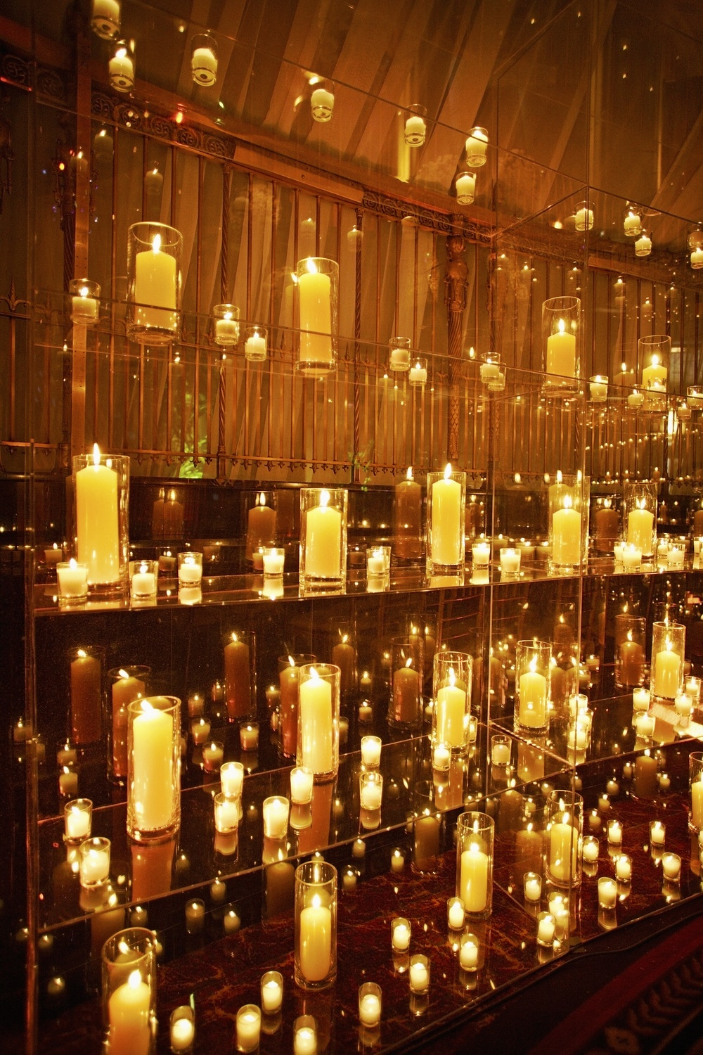 Wall of Candles