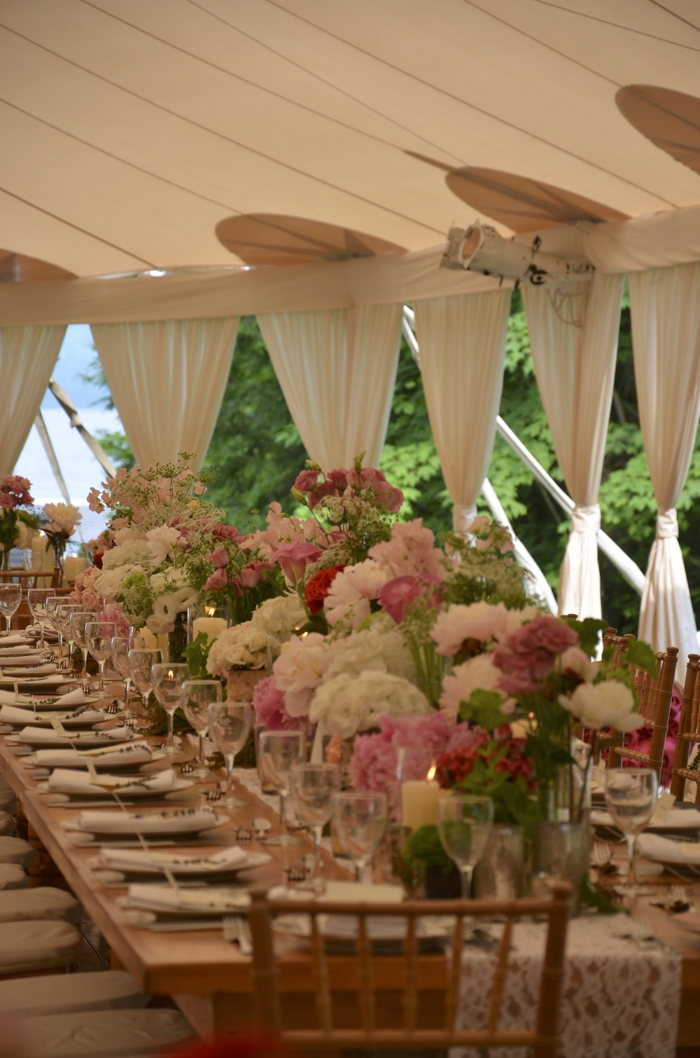 Lush Tablescape