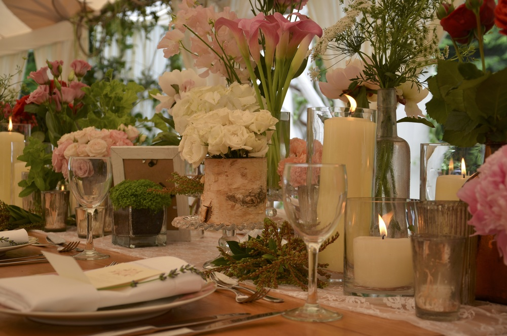 Multi-leveled Tablescape
