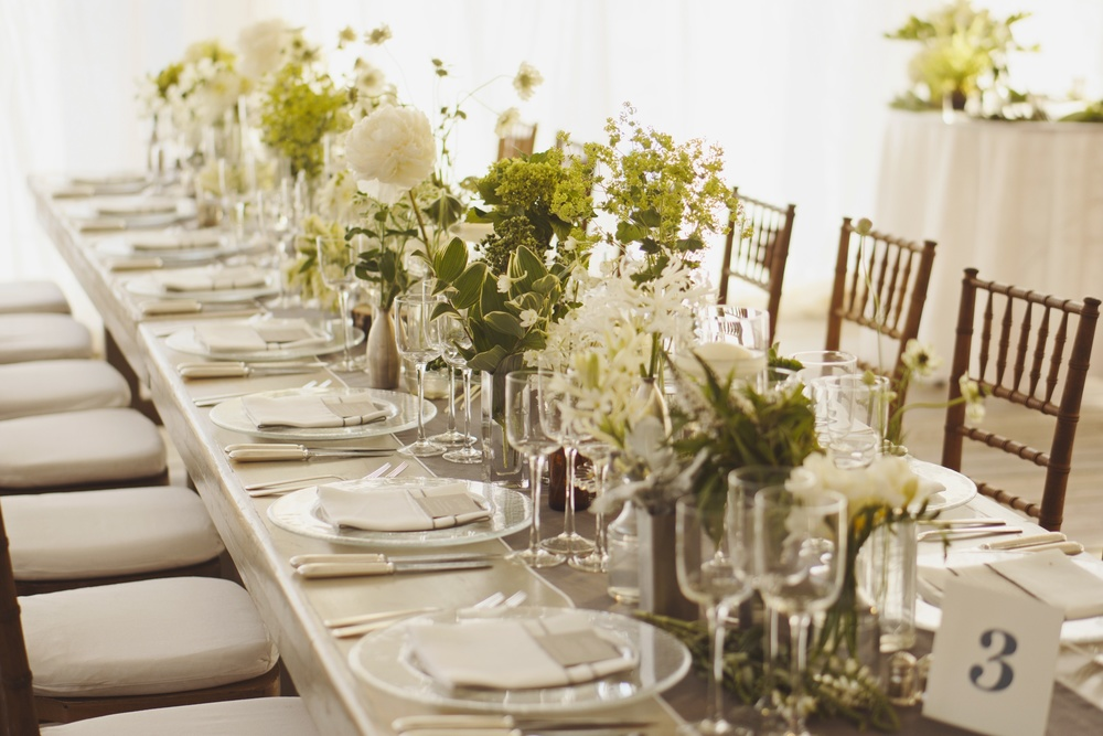 Natural Elegant Tablescape