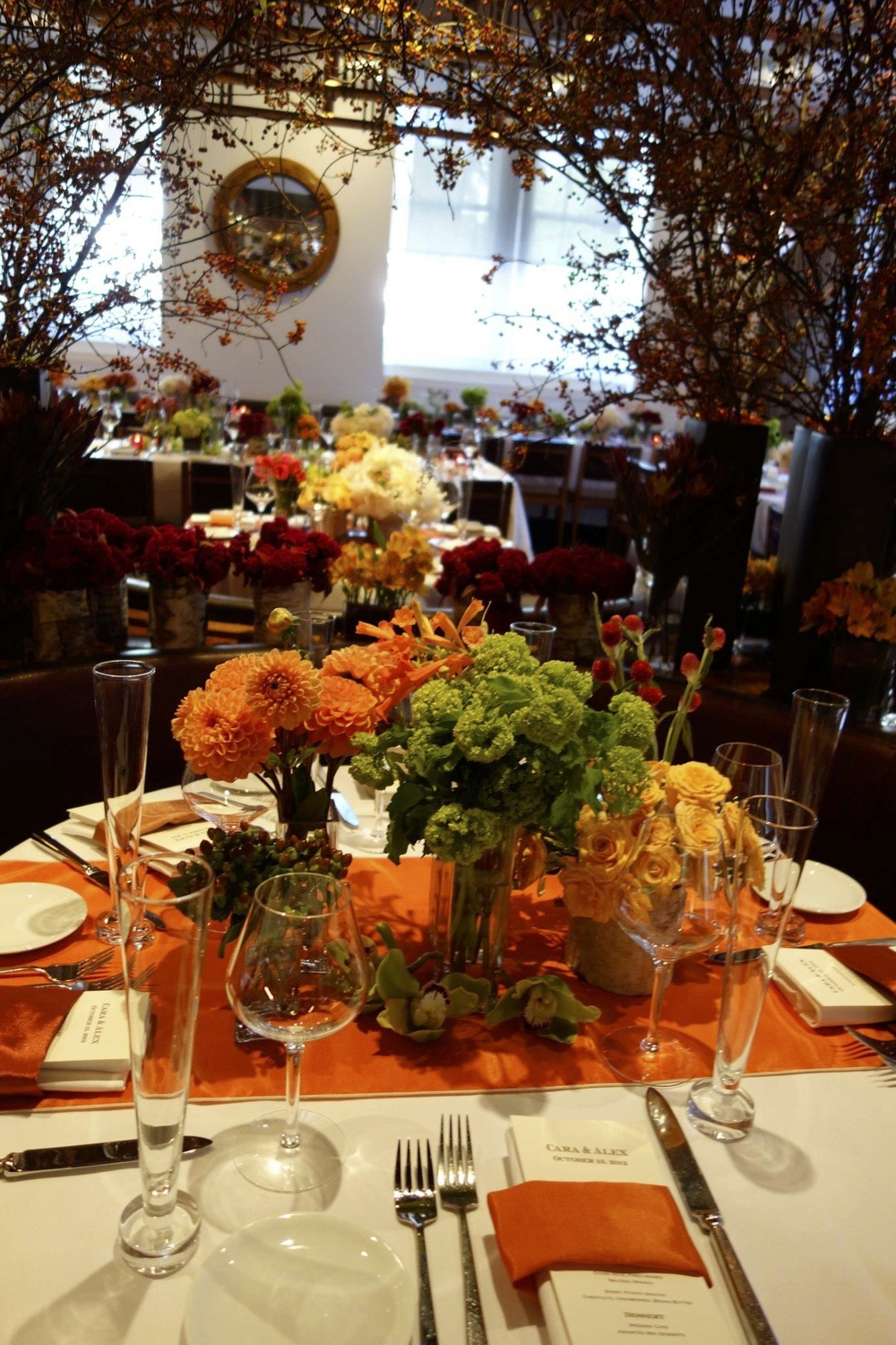 Medium Fall Table Decor