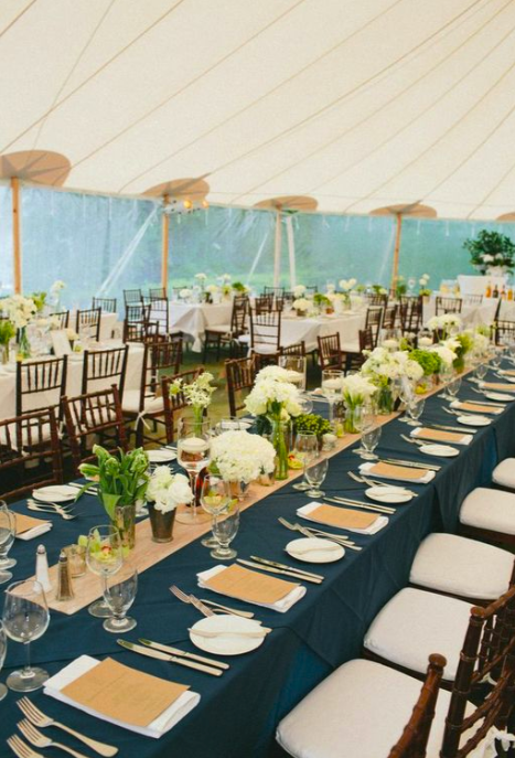 Long Table Decor