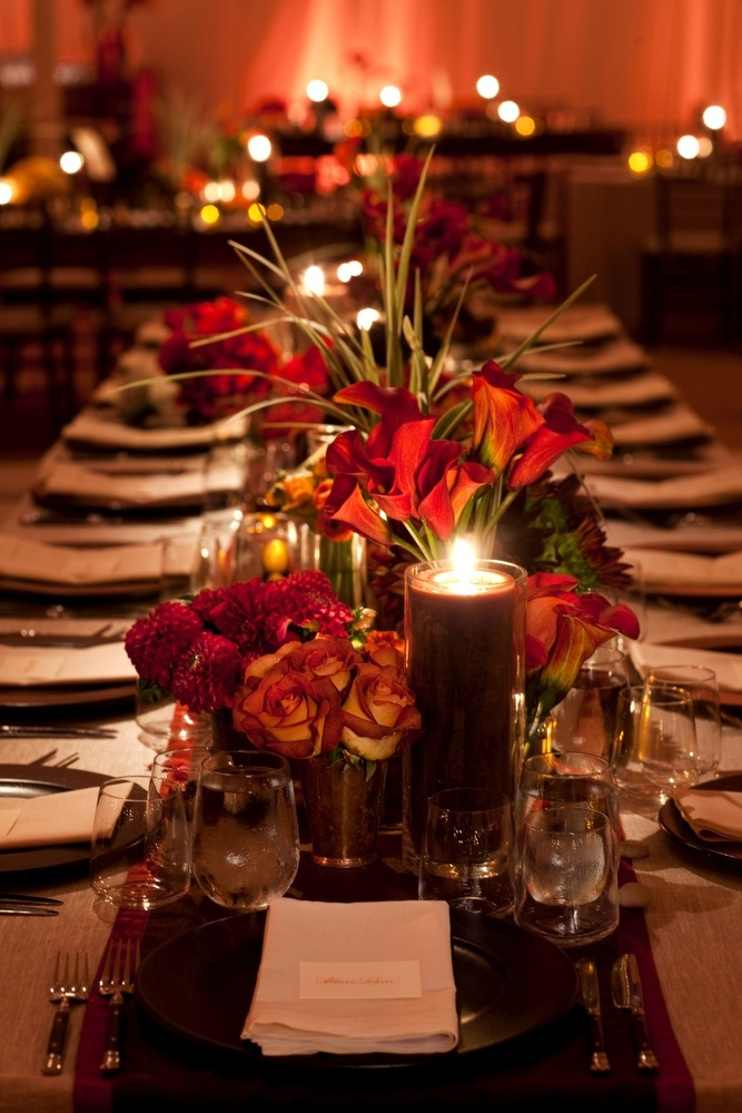 Rectangular Tablescape