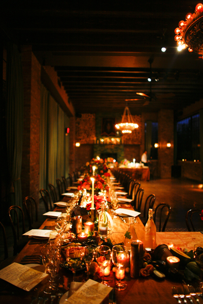 Long Tablescape