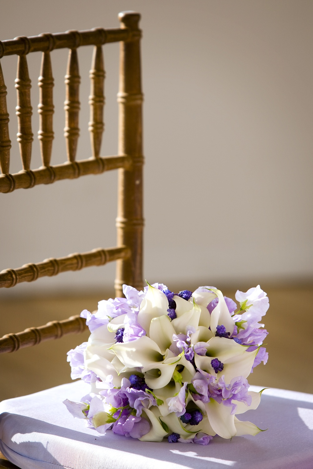 Lilac and White Bouquet