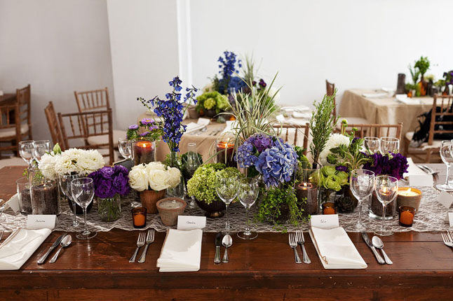 Long Organic Tablescape