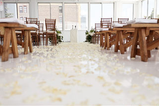 Petals Down the Aisle