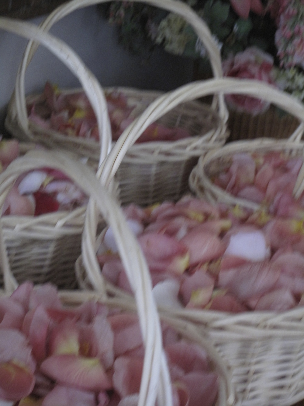 Flower Petal Baskets