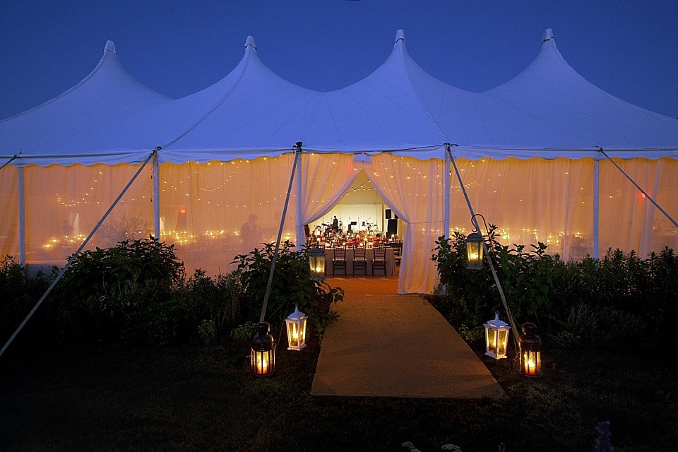 Candlelit Tent Entryway