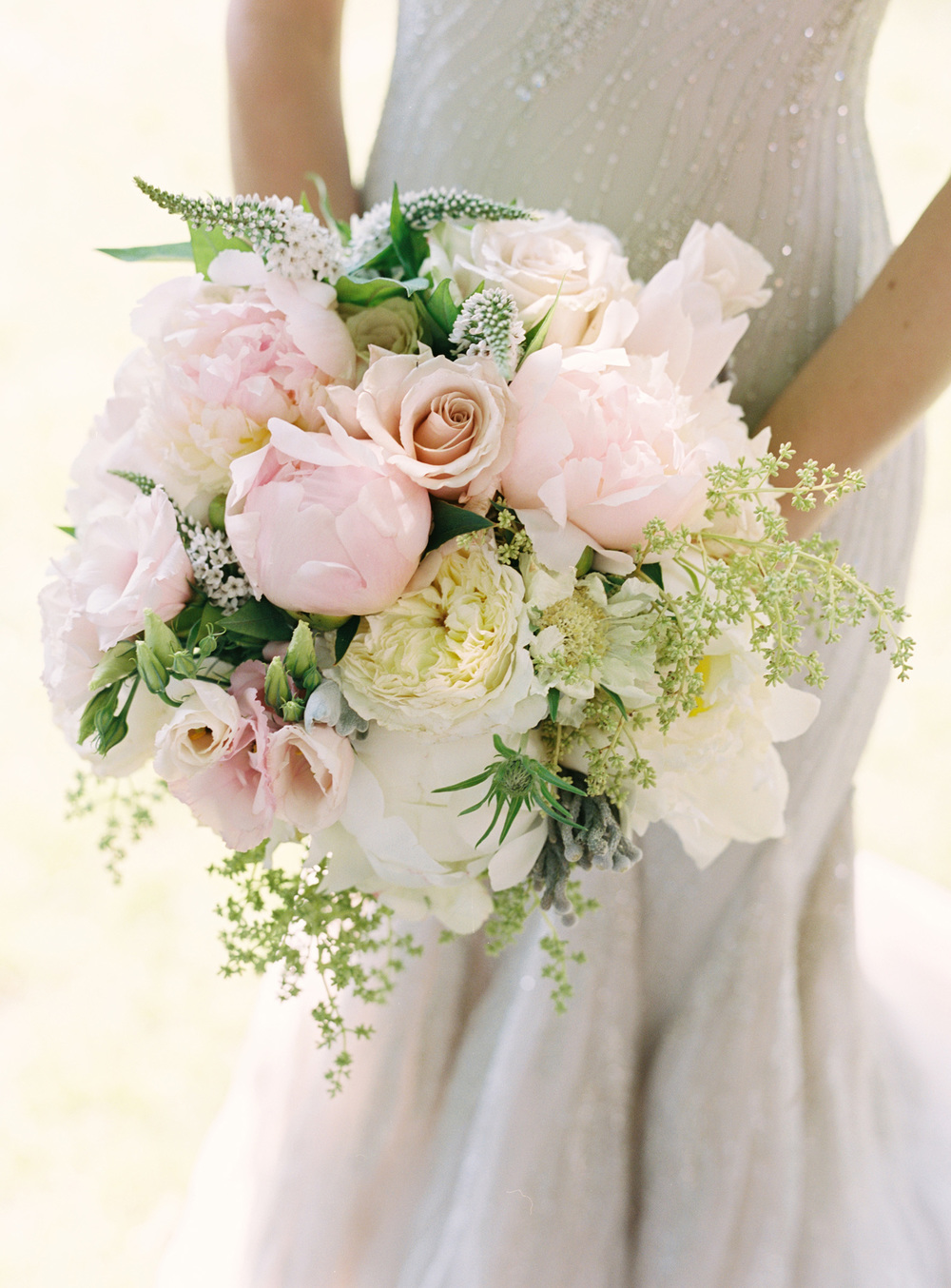 Bouquet - Light Pink & White