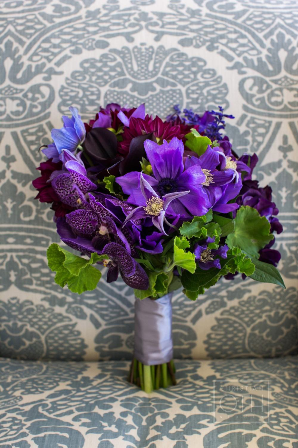 Bouquet - Deep Purples