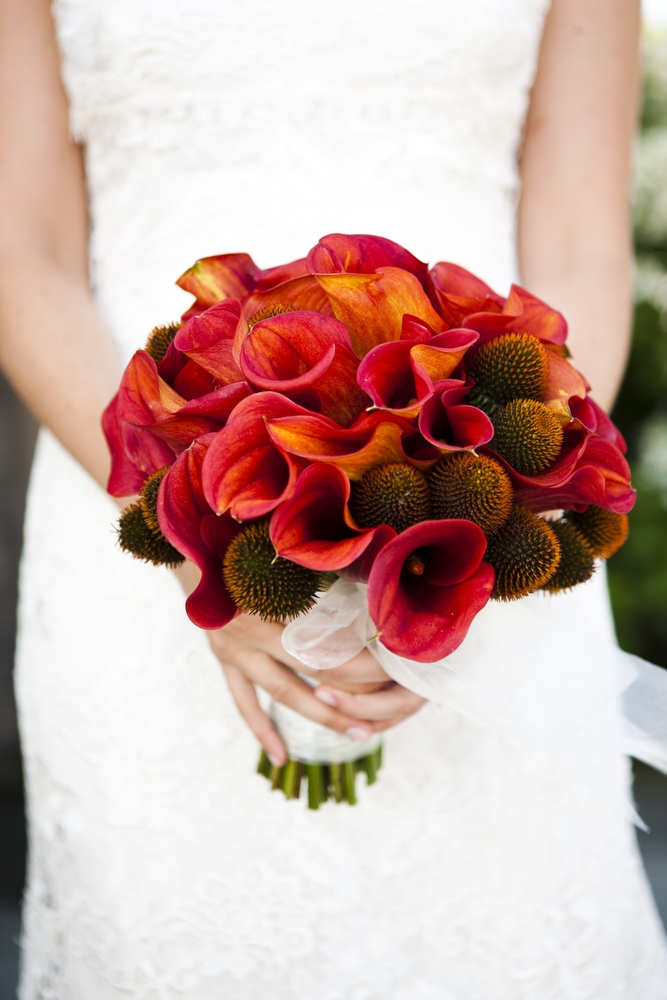 Bouquet - Deep Reds and Oranges