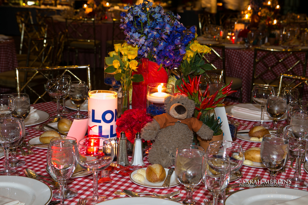 Tablescape with Bear!