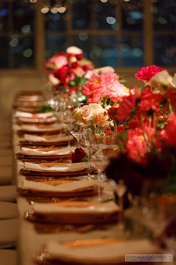 Medium Height Table Decor