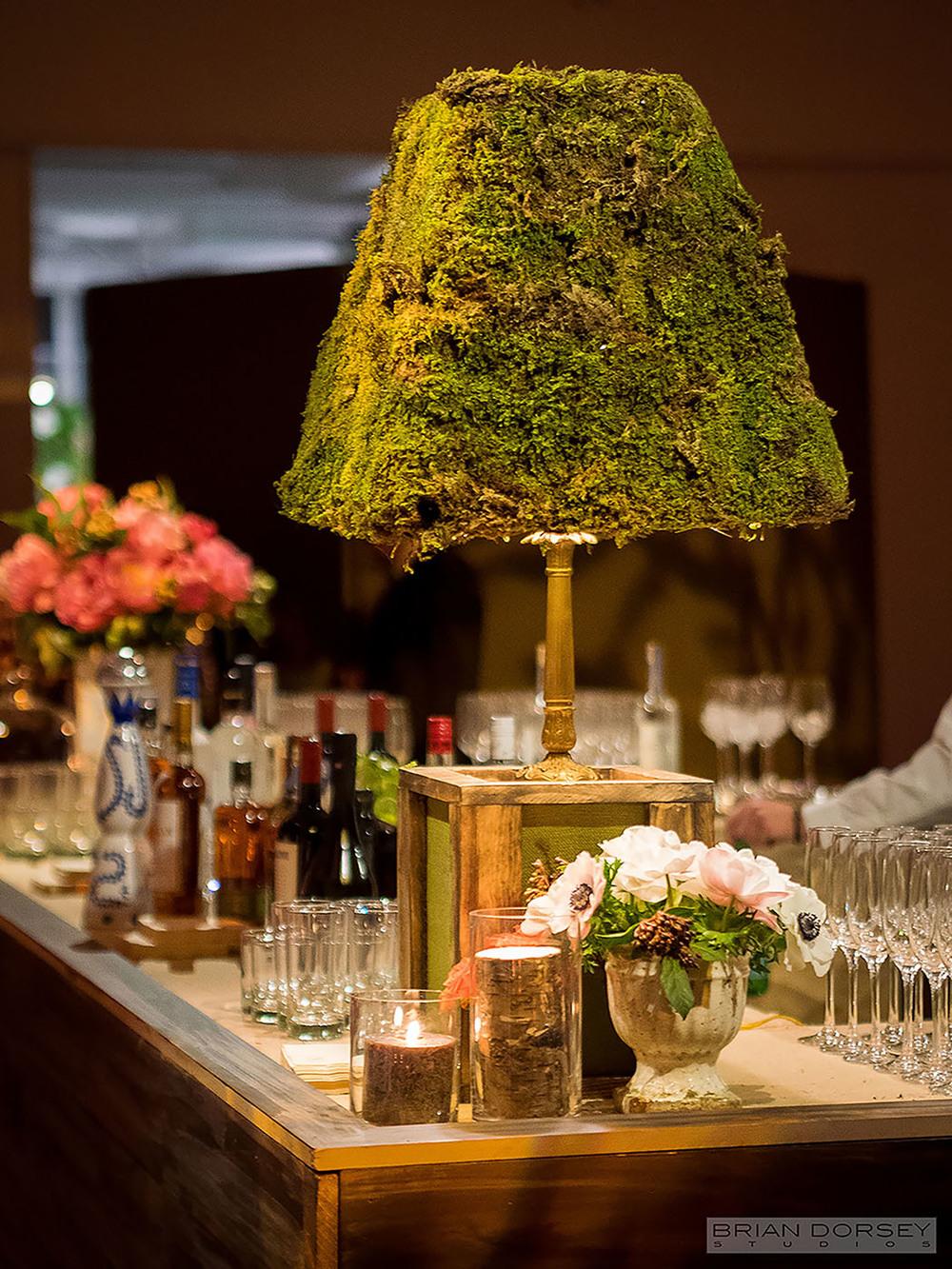 Custom Moss Lamp
