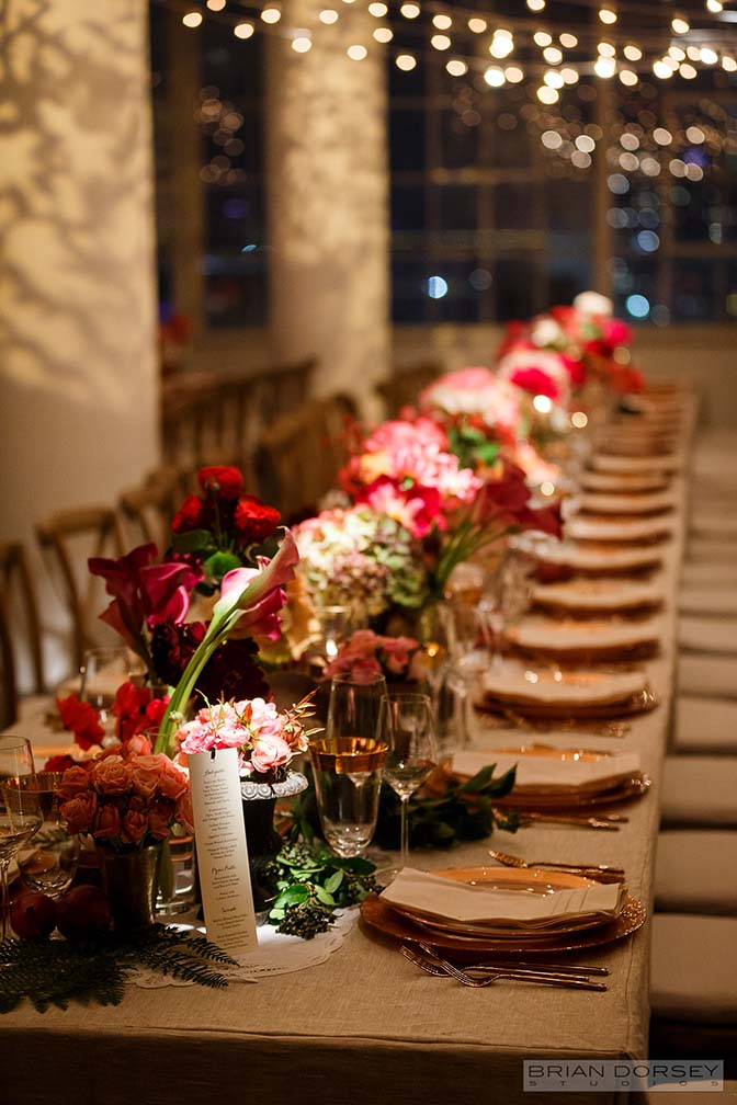 Long Rectangular Table Decor