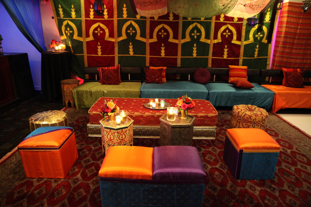 Silk Lounge Area