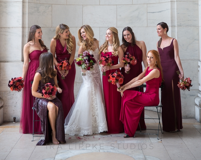 Bouquets and Bridesmaids