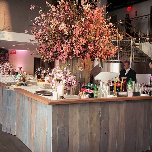 Another day, another custom designed and built bar. #batmitzvah