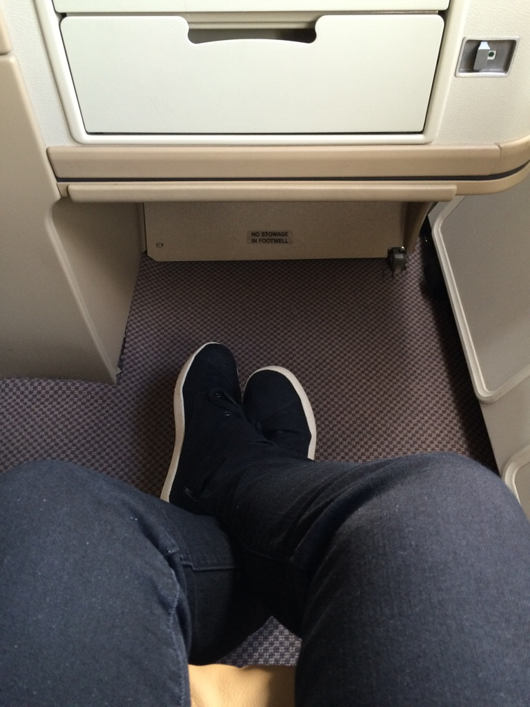 More leg room than you could ever wish for.