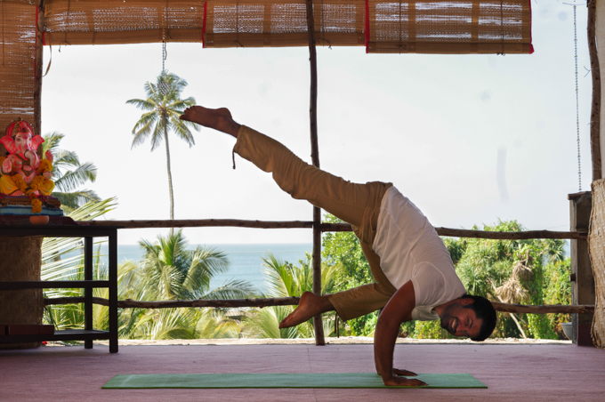 Dr.Gaurav Malik Ganesh Ganesha Anadi Yoga Yoga School Yoga Teacher Training Arambol Beach Goa India Yoga Course
