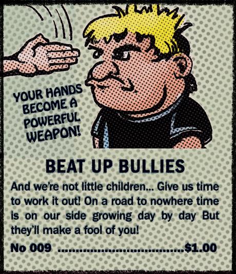 Beat Up Bullies Comic Book Ad