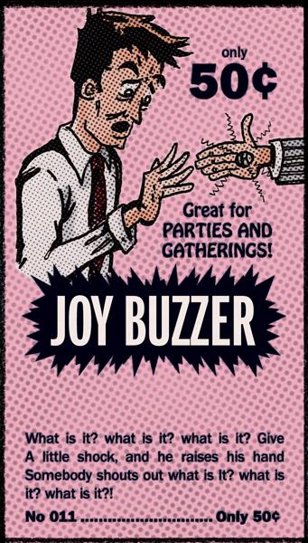 Joy Buzzer Comic Book Ad