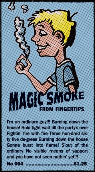 Magic Smoke Comic Book Ad