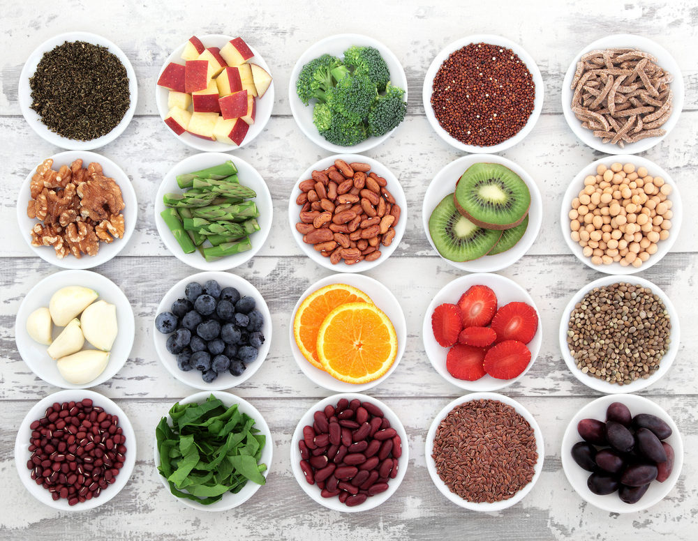 How many of these super foods can you identify?