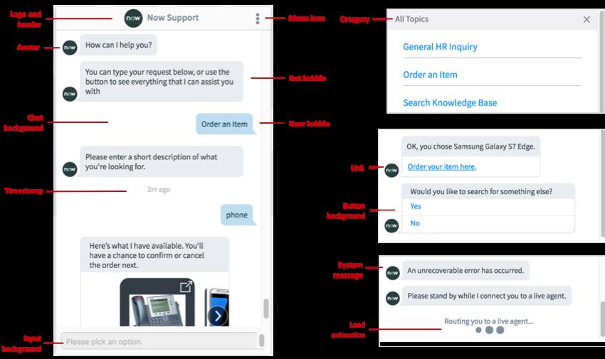 Virtual Agent Branding
