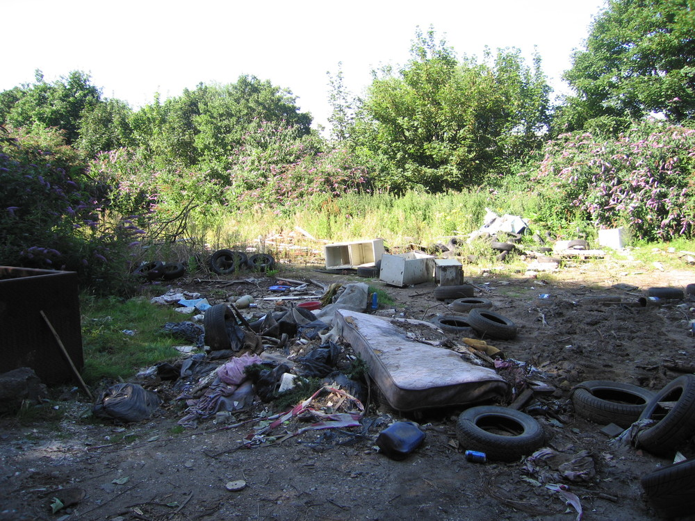 Fly-tipping is a real problem that land managers have to deal with, particularly in times of budget cuts where resources for clearing rubbish are limited.