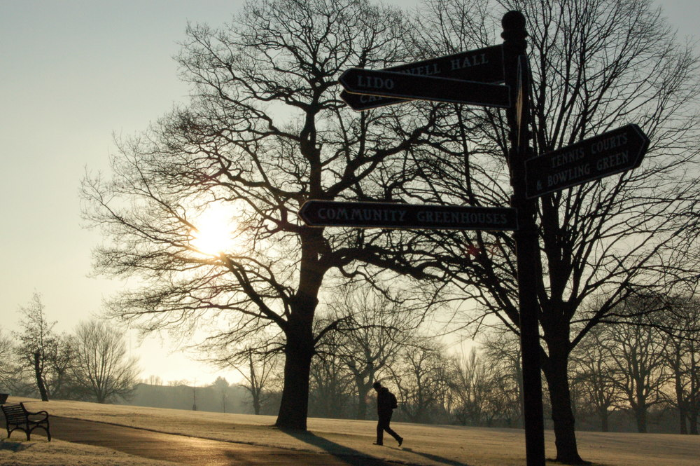Early morning, Brockwell Park, London