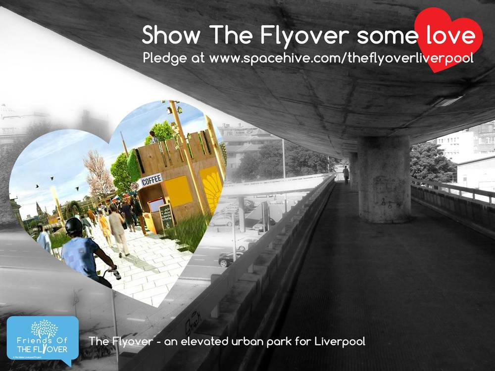 The Flyover crowd funding publicity poster