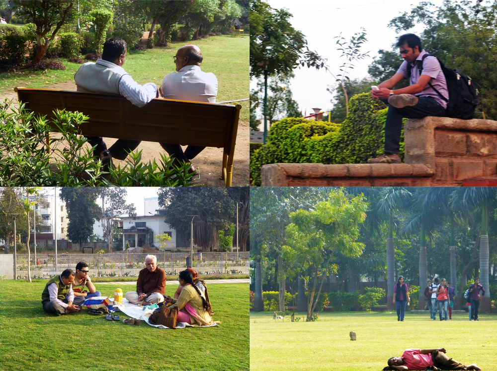 Amdavadis come to the city's parks for space, quiet and some rest