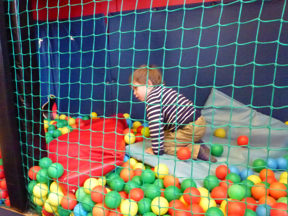 Soft play versus outdoor play – no contest!