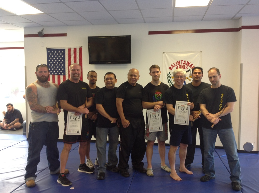 World Camp 2013. (L-R) Matt Wagner, Scott Meyer (Level 6), Kinney Thompson, Jemar Carcellar, GM Bobby Taboada, Ben Winn (Level 6), Terence Chu (Level 6), Nebrido Nocon, Pat Dabney
