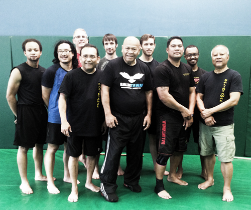 Grandmaster Bobby Taboada with participants of Saturday's Seminar.