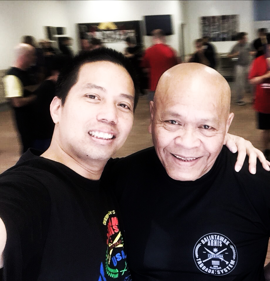 Master Eugene with GM Taboada