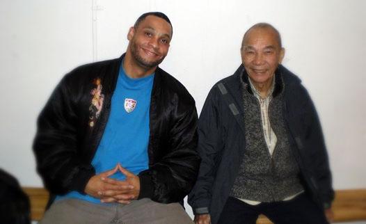 Guro McDaniel and Choy Lay Fut Grand Master Poon Shing