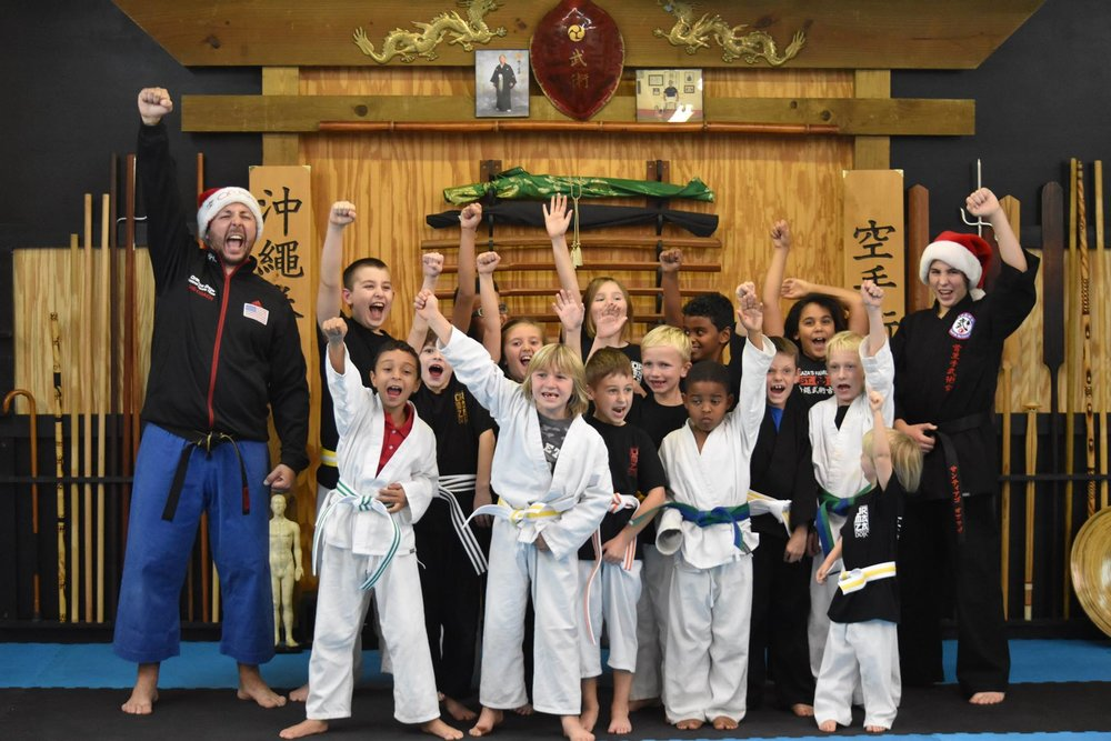 They have serious fun while learning serious skills at Ormaza Family Karate!